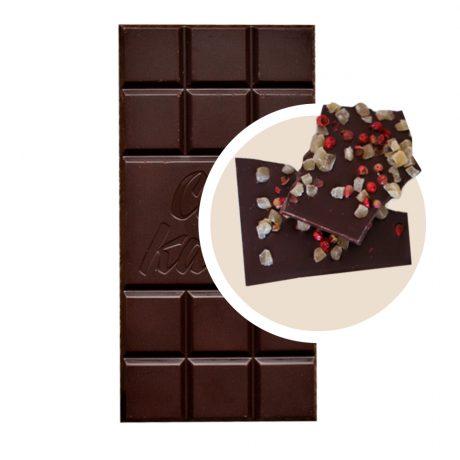 Черен Шоколад с Ананас и Розов Пипер
