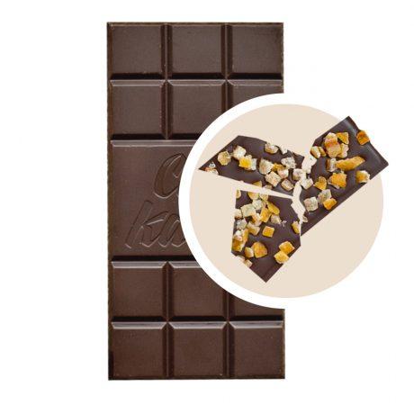 Черен Шоколад с Портокалови Кори