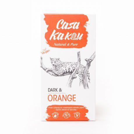 Натурален Шоколад с Портокалови Кори